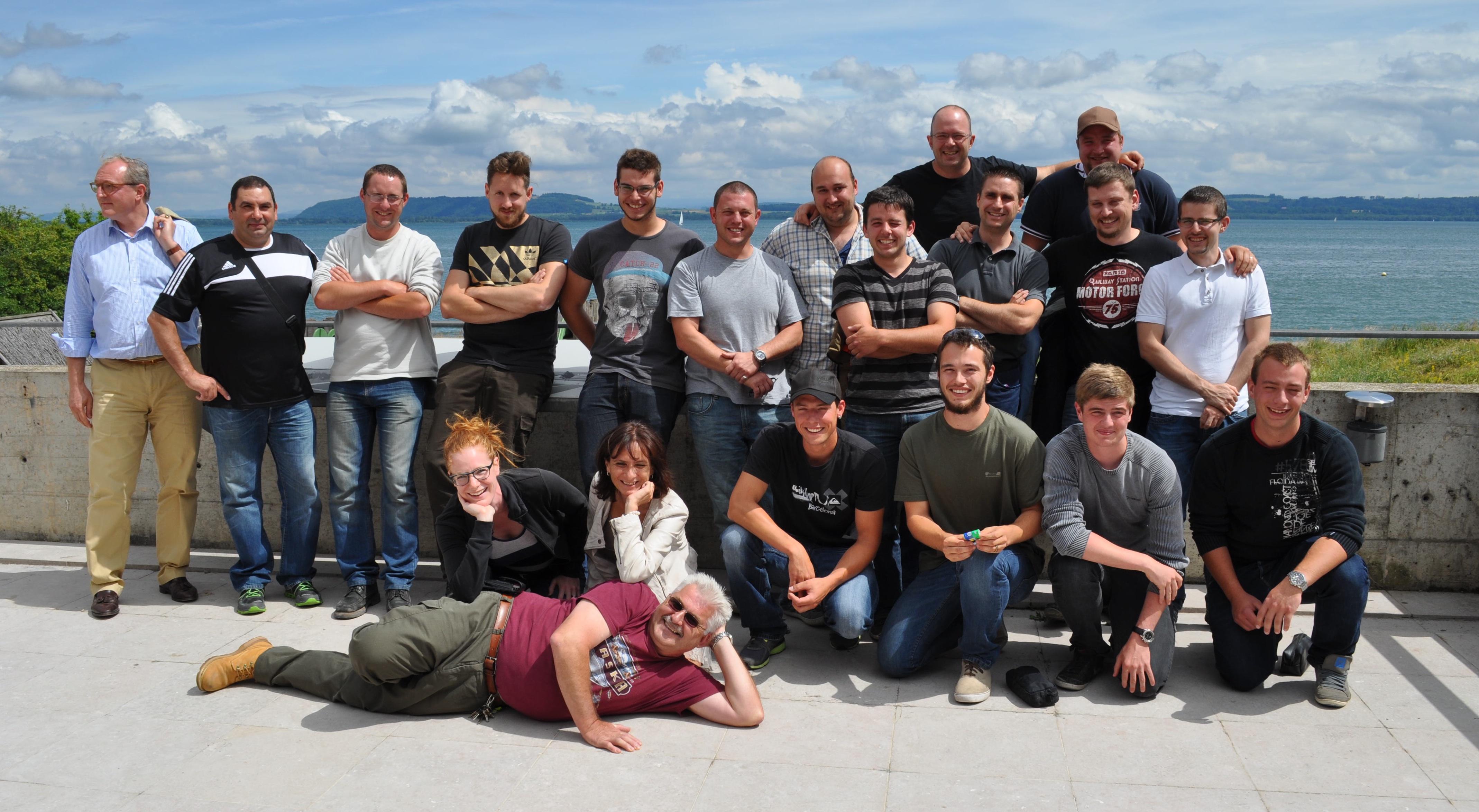 Candidats chasseurs: la volée 2014 record prend la pose!